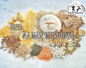 Dieta Na Mase High Carbs Easy Fit Looker Catering